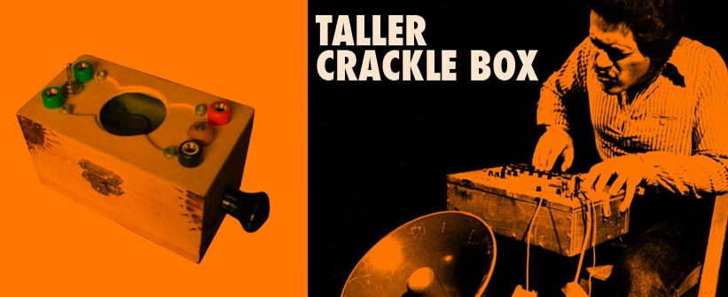 "Crónica de "" Taller CRACKLE BOX"""